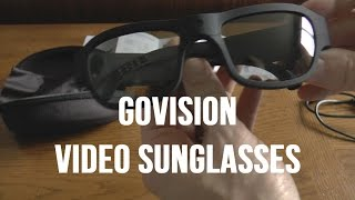 GoVision HD Sunglasses Video Camera Test Comparison and Review