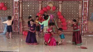 Aai mala khelayla jaychay - HD English Medium School Gathering Dance - 2018-19