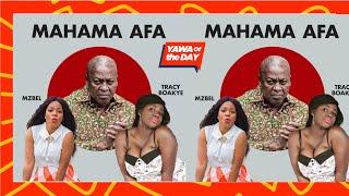 Yawa Of The Day: Tracey Boakye Exonerates John Mahama