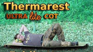 Therm-A-Rest ULTRA lite COT   Leichteste FELDBETT aufm Markt   Survival Piet's EMPFEHLUNG