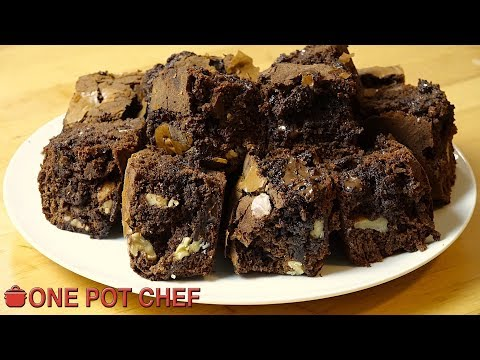 Ultimate Nutella Brownies | One Pot Chef