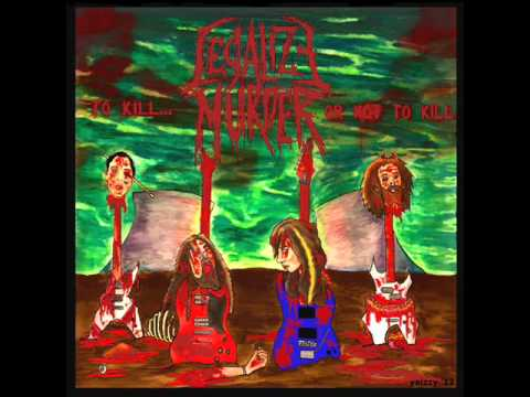 LEGALIZE MURDER - CHAINSAW DISCIPLE
