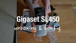 Gigaset SL450HX DECT IP Phone (Review and Configuration)