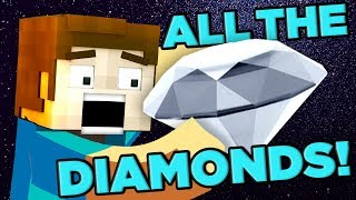 Minecraft DECODED! How Many Diamonds Exist? | The SCIENCE... of Minecraft