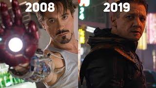 Как менялась киновселенная Marvel?