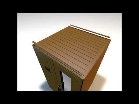 Cabina De Sauna Modular