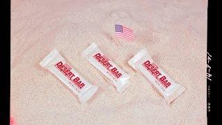 1990 Hersheys Desert Bar Rare Discontinued MRE Candy Tropical Chocolate Bar Ration Review