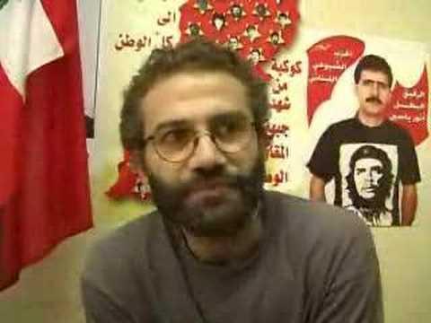 Savaş ertesinde Lübnan Komünist Partisi dış ilişkiler sorumlusu Ahmad Saade ile söyleşi -Didem Şahin