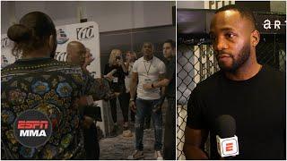 Leon Edwards calls out Jorge Masvidal and Kamaru Usman's 'planned' confrontation   ESPN MMA