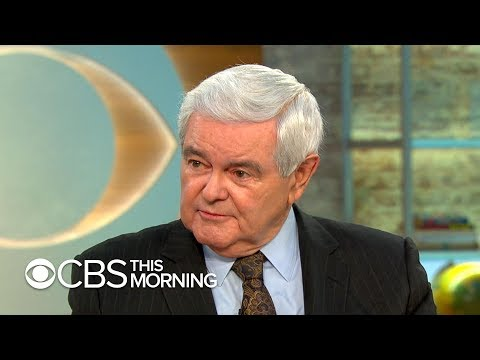 "Newt Gingrich on Nancy Pelosi doing ""exactly the right thing"" with Mueller report, new novel ""Collus"