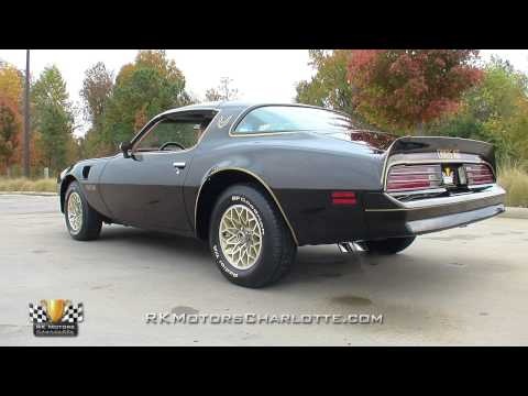 1977 Pontiac Firebird Trans Am SE Video Tour