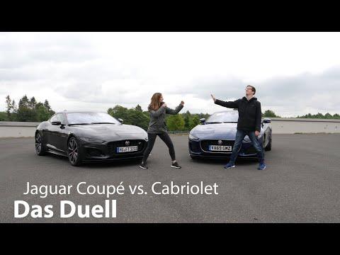 Das Duell: F-Type Coupé versus F-Type Cabriolet - Wer hat die bessere Raubkatze?! - Autophorie
