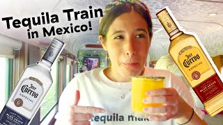 Trying The All-You-Can-Drink Tequila Train In Mexico