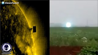 NASA Hides Giant UFO Next To Sun, Siberian Mystery Lights & More! 8616