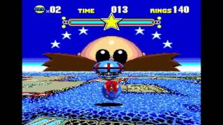 Sonic Hedgehog Cd All 7 Special Stages 1 Mixed Music Hd