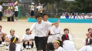 体育祭 玉入れ(生徒VS保護者)