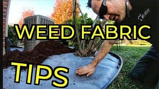 Weed Barrier Fabric Pricing And Lessons Ive Learned On Landscaping Jobs