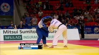 Georgia vs Germany World Judo Team Championships 2015 - Astana