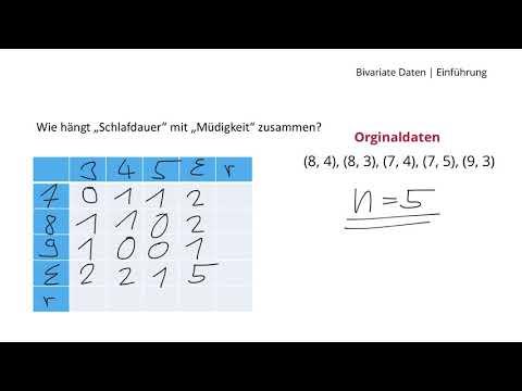 Was sind Bivariate Daten?