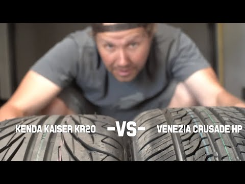 Cheap drift tire challenge #1: Venezia Crusade HP vs Kenda Kaiser KR20
