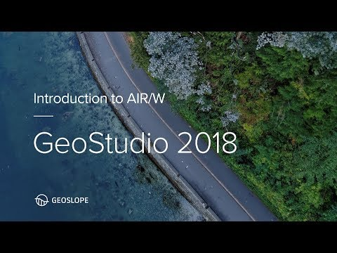 GeoStudio 2018 AIR/W Tutorial
