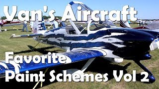 RV Aircraft Video - Paint Schemes for Van's RV Aircraft - Part 2