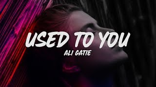 Ali Gatie   Used To You (Lyrics)