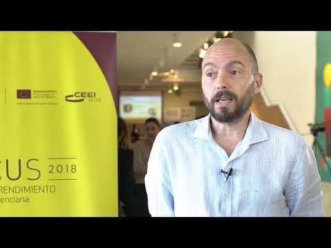 Alfonso Sánchez, Cofundador y CEO de Planeta Huerto en #Focuspyme Conectando Startups 2018[;;;][;;;]