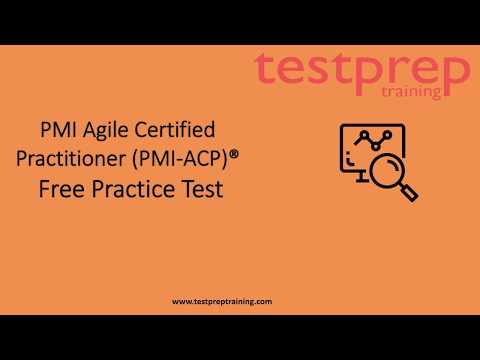 PMI Agile Certified Practitioner (PMI-ACP) Practice Questions ...