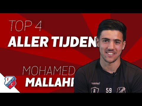 De top 4 van Mohamed Mallahi