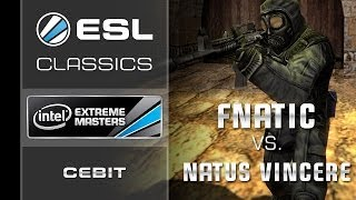 ESL Classics: fnatic vs. NaVi - Grand Final - IEM CeBIT 2010 - Counter-Strike 1.6