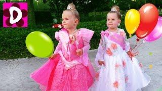 День Рождения Принцессы Дианы Transform into Royal Disney Real Princess Belle Beauty and the Beast