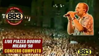 883: Nessun rimpianto LIVE (Piazza Duomo Milano '98)