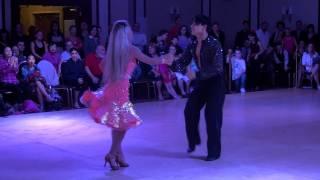 Dancing with the Stars Oksana Dmytrenko & Aleksander Altukhov  Dance Fever Showcase performance.