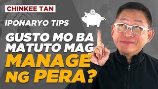 IPONARYO TIPS: Gusto Mo Ba Matuto Mag Manage Ng Pera?
