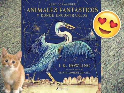 Animales Fantásticos y dónde encontrarlos ILUSTRADO!!!