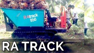 Alat Panen Di Lahan Gambut! - RaTrack - Perkebunan Kelapa Sawit (Ra Track, Retrek)