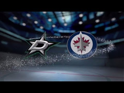 Dallas Stars vs Winnipeg Jets - November 02, 2017 | Game Highlights | NHL 2017/18. Обзор матча
