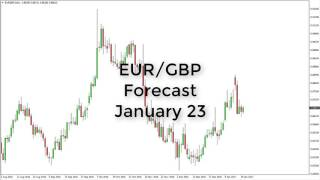 EUR/GBP - EUR/GBP Technical Analysis for January 23 2017 by FXEmpire.com