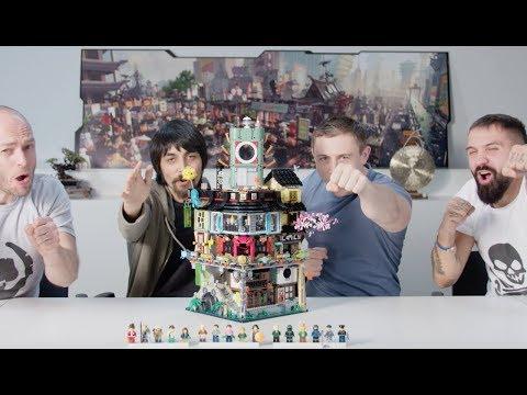 LEGO 70620 旋風忍者城(NINJAGO City)設計師解說影片來摟!