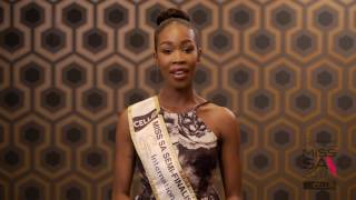 Introduction Video of Odirile Sepeng Miss South Africa 2017 Contestant from Pretoria, Gauteng
