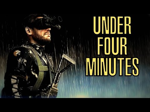 Metal Gear Solid V: Ground Zeroes Done Perfectly In Under Four Minutes