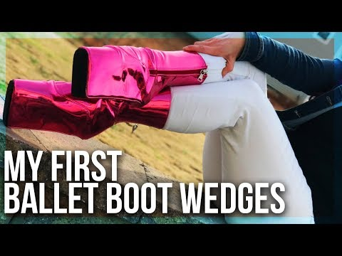 BALLET BOOT Wedge Unboxing | Refuse To Be Usual