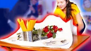TOGLIERE LA TOVAGLIA AL VOLO! (Tablecloth Challenge)