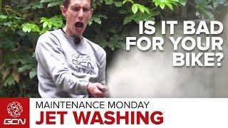 Should You Jet Wash Your Bike?   Maintenance Monday