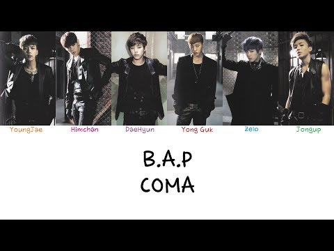 B.A.P - Coma (Color coded lyrics Han|Rom|Eng)