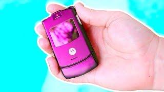 Какие телефоны ОБОЖАЛИ 10 лет назад??? НЕ АЙФОН!