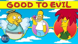 The Simpsons Characters: Good to Evil