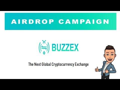 $13 Dólares no Airdrop da Exchange Buzzex, ESSE VAI PAGAR!