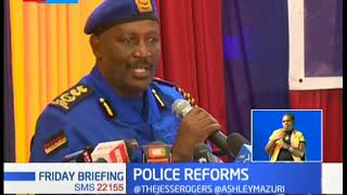 Kenya to carry out complete police forms